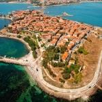 poza Nessebar - un oraș cu 3000 de ani vechime